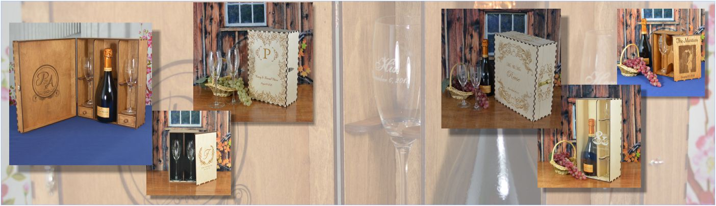 Champagne and Flute Gift Boxes